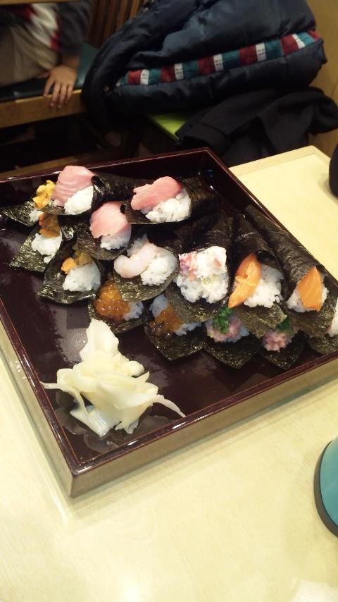 築地玉寿司。