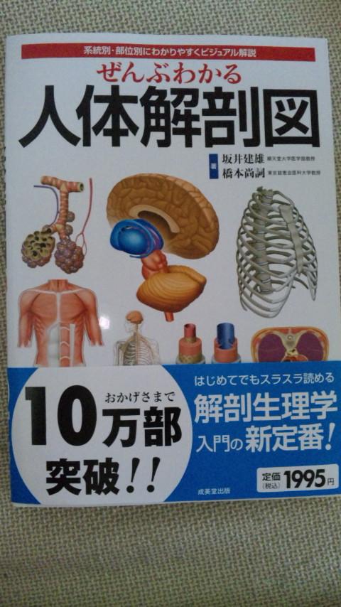 ぜんぶわかる人体解剖図。