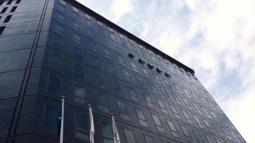 中央区役所。